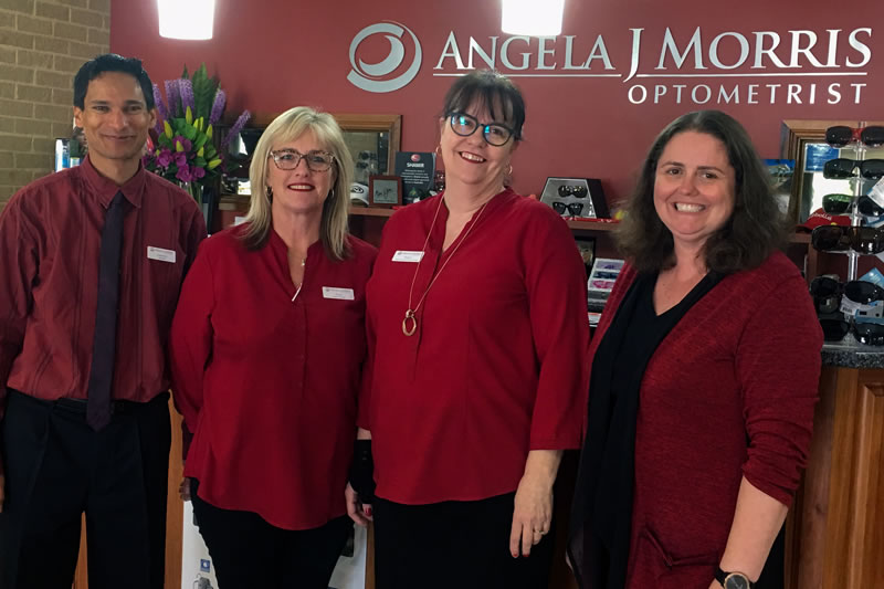 Angela Morris Optometrist Team